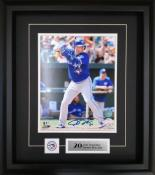 Josh Donaldson Framed Autographed 8×10 Photo