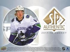 17/18 Upper Deck SP Authentic (Arriving May 18th)
