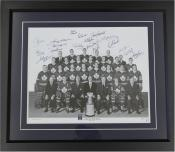 1967 Toronto Maple Leafs Dual-Signed Photo