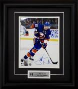 John Tavares Framed Autographed 8x10 Photo