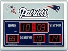 New England Patriots Digital Scoreboard Clock