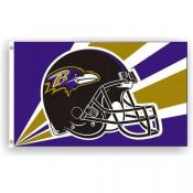 Baltimore Ravens 3 x 5 Flag