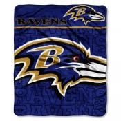Baltimore Ravens Micro Throw