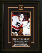 Bernie Parent Autographed Framed Photo