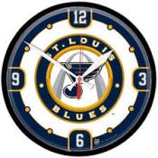 St.Louis Blues 12 Inch Round Clock