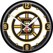 Boston Bruins 12 Inch Round Clock
