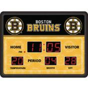 Boston Bruins Digital Scoreboard Clock