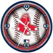 Boston Red Sox 12 Inch Round Clock