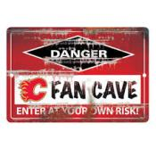 Calgary Flames Fan Cave Sign