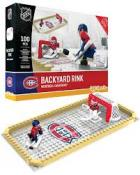 OYO Sports NHL 100 Piece Backyard Rink Set Montreal Canadiens