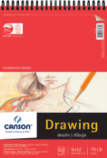 Canson Foundation Series Drawing Pad 9