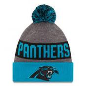 Carolina Panthers Heather Gray 2016 Sideline Official Sport Knit