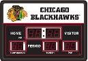 Chicago Blackhawks Digital Scoreboard Clock