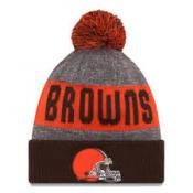 Cleveland Browns Heather Gray 2016 Sideline Official Sport Knit