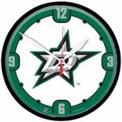 Dallas Stars 12 Inch Round Clock