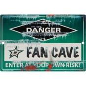 Dallas Stars Fan Cave Sign