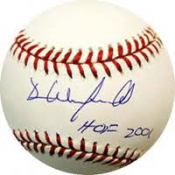 Dave Winfield Autographed Official MLB Baseball