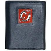 New Jersey Devils Leather Wallet