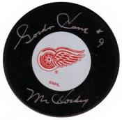 Gordie Howe Autographed Puck – (Please Contact for pricing)