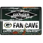 Green Bay Packers Fan Cave Sign