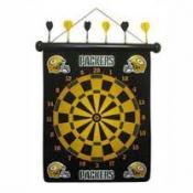 Green Bay Packers Magnetic Dart Board Set