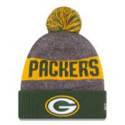 Green Bay Packers Heather Gray 2016 Sideline Official Sport Knit