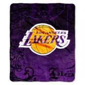 Los Angeles Lakers Micro Throw