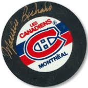 Maurice Richard Autographed Puck – PLEASE CONTACT US