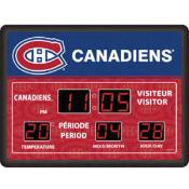 Montreal Canadiens Digital Scoreboard Clock