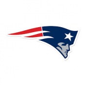 New England Patriots  5×7 team decal