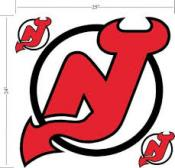 New Jersey Devils Wall Applique