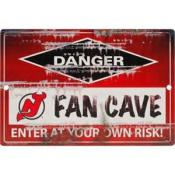 New Jersey Devils Fan Cave Sign