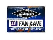 New York Giants Fan Cave Sign