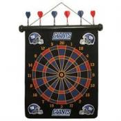 New York Giants Magnetic Dart Board Set