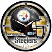 Pittsburgh Steelers 12 Inch Round Clock