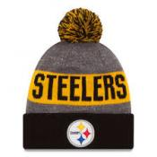 Pittsburgh Steelers Heather Gray 2016 Sideline Official Sport Knit