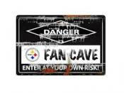 Pittsburgh Steelers Fan Cave Sign