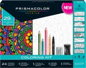 Prismacolor Premier Soft Core Pencils Colouring Book Kit