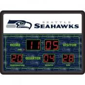 Seattle Seahawks Digital Scoreboard Clock