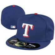 Texas Rangers MLB Authentic Collection 59FIFTY
