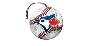 Toronto Blue Jays Nu-Car Scent Baseball Shape  Air Freshener 3 Pack Set