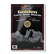 BCW Golden Comic Book Boards