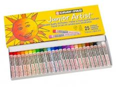 Cray-Pas Junior Artist Oil Pastels 25 Pack