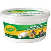 Crayola Air Dry Clay 2.5 Lb White