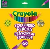 Crayola Coloured Pencils 60 Pack