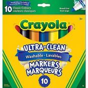Crayola Washable Classic Broad Markers