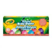 Crayola Washable Paint 10 Pack Neon Colours