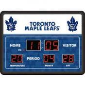 Toronto Maple Leafs Digital Scoreboard Clock