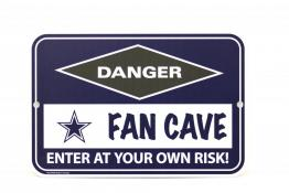 Dallas Cowboys Fan Cave Sign