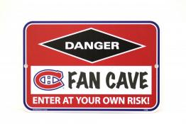 Montreal Canadiens Fan Cave Sign